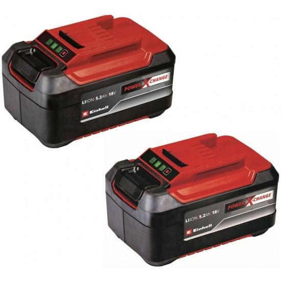 Einhell 2x18V 5.2Ah P-X-C Plus Akumulators