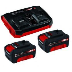 Einhell Akumulatori 18V 2X3,0 Ah+dubultais lādētājs PXC