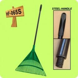 DIXTEN HF 065S Plastmasas grābeklis ar metāla kātu 61x55x181cm