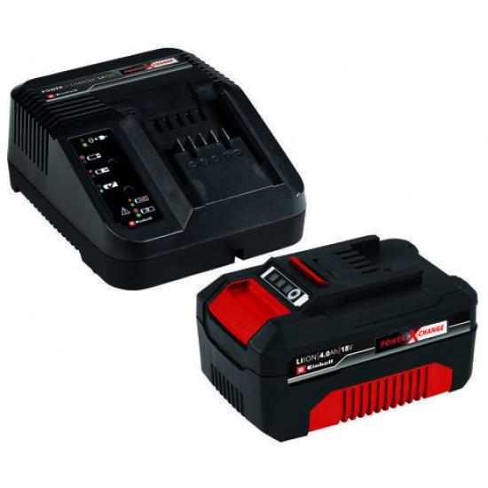 Einhell 18V 4.0Ah PXC Akumulators+Lādētājs