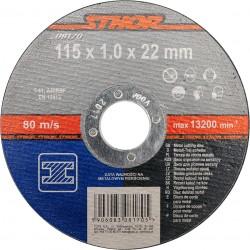 Griezējdisks metālam 115x1x22mm Stohr