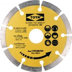 Dimanta disks betonam 110mm Vorel
