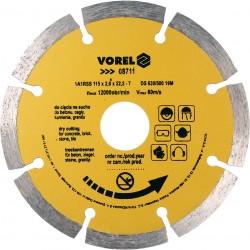Dimanta disks betonam 115mm Vorel