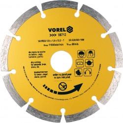 Dimanta disks betonam 125mm Vorel