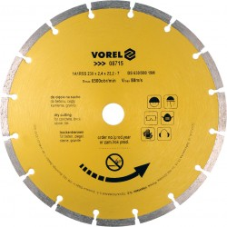 Dimanta disks betonam 230mm Vorel