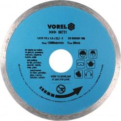 Dimanta disks flīzēm 115mm Vorel