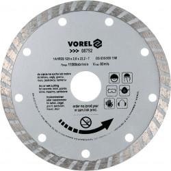 Dimanta disksTURBO 125mm Vorel