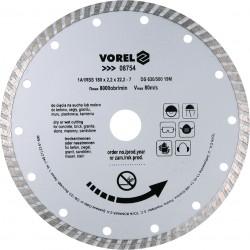 Dimanta disksTURBO 180mm Vorel