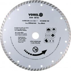 Dimanta disksTURBO 230mm Vorel