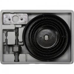 Kroņurbju komplekts, 8gb., 64-127mm Vorel