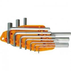 Seškantu komplekts 10gab 1.5-10mm Vorel