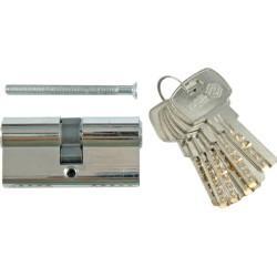 Atslēgas serdenis hromēts 62mm,6 atslēgas,31/31mm Vorel