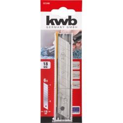Tapešu naža asmens 18mm, 6gb. KWB