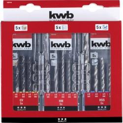KWB by Einhell urbju kompl.3x5gb