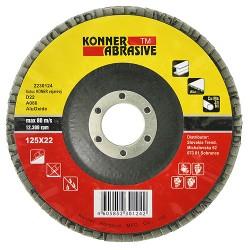 Slīpēšanas disks KONER D22 125X22,A040, Strend Pro