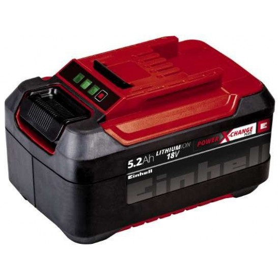 Einhell 18V 5,2 Ah P-X-C Plus Akumulators