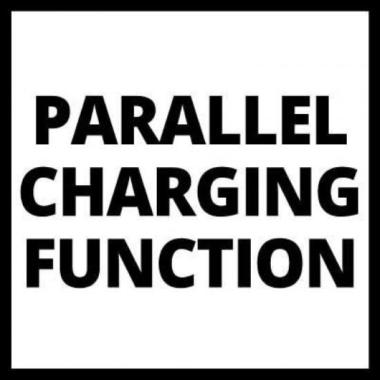 Einhell 18V Power-X-Change Dubultais akumulatoru lādētājs